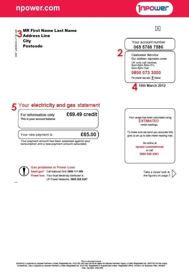 how to find meter number on energy australia bill